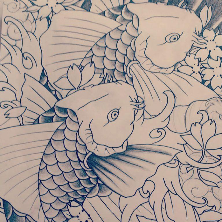 dibujo_peces